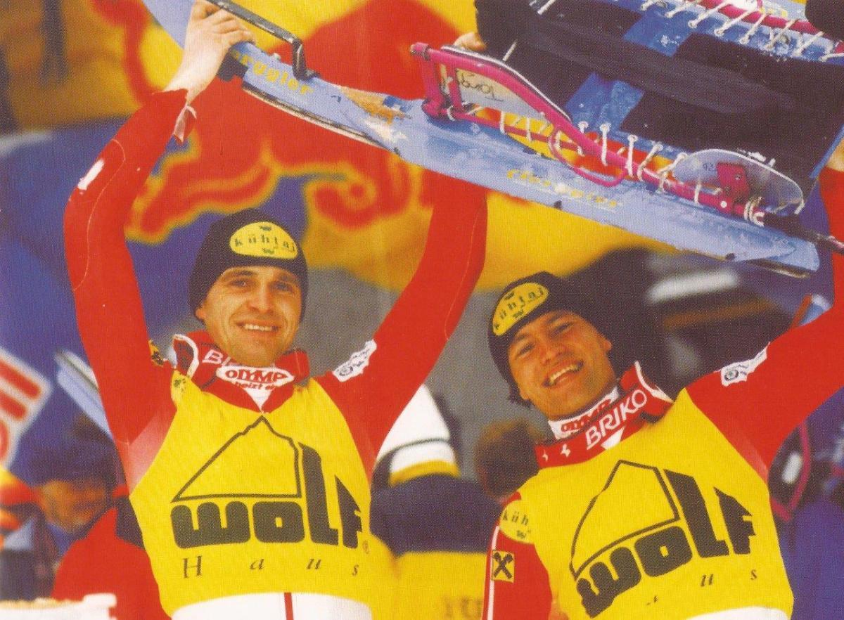 Andreas Ruetz und Helmut Ruetz sind ehemalige Naturbahnrodel und Rennrodel-Stars aus Österreich