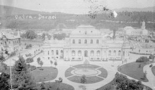 Casino mit Kurpark um 1900