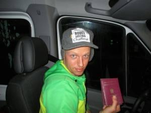 Michael Scheikl_Anreise zum Weltcup in Rumänien
