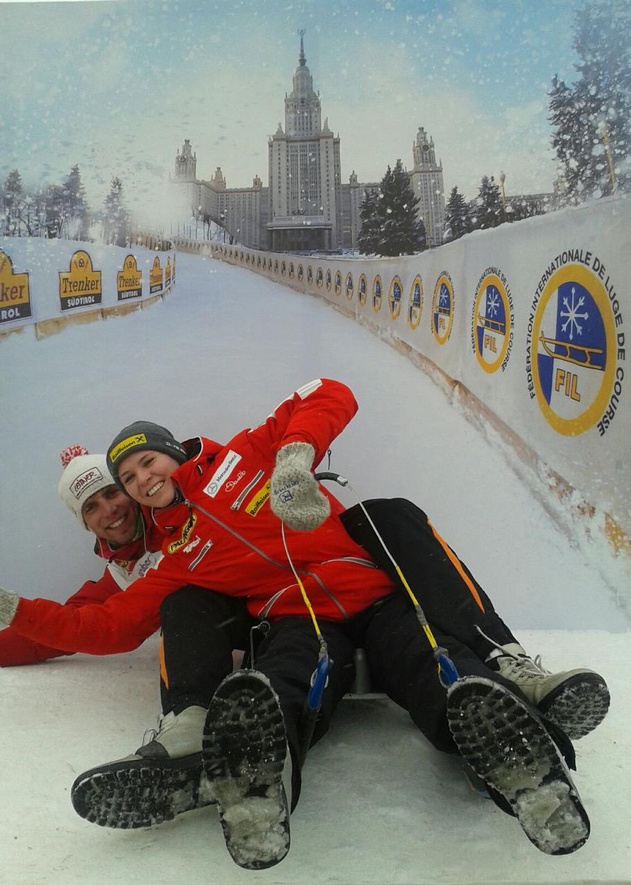 Naturbahnrodel Weltcup 2016 in Moskau_Rußland