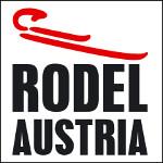 Das Logo des Österreichischen Rodelverbandes - ÖRV - in weiß