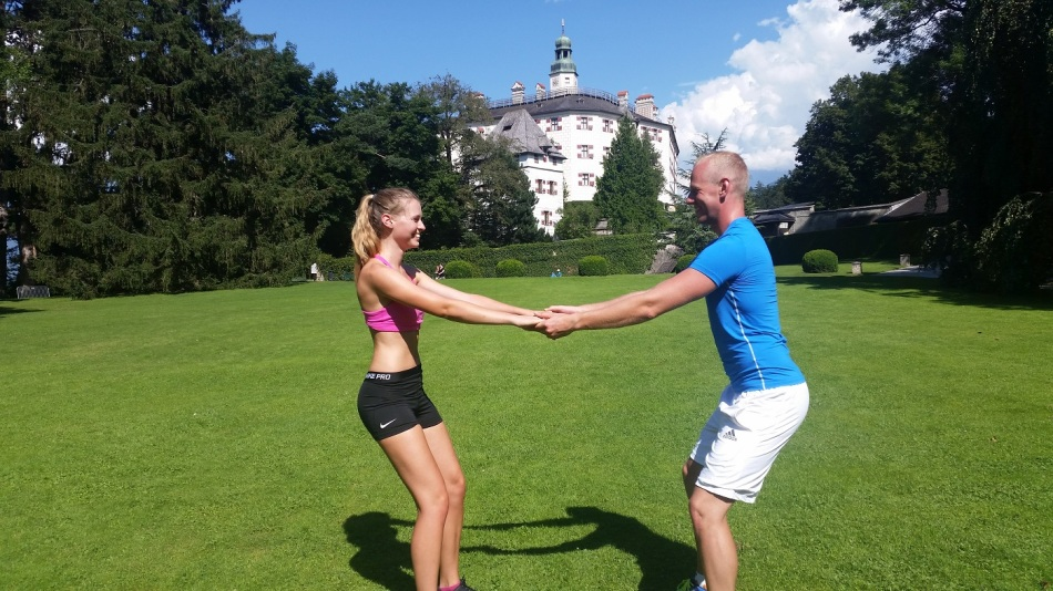Rodel Austria_Naturbahn_Partner Workout