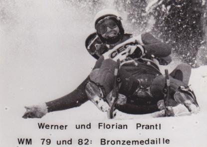 Naturbahnrodeln, erster Weltmeister, jodelnde Rodler, die Zillertaler