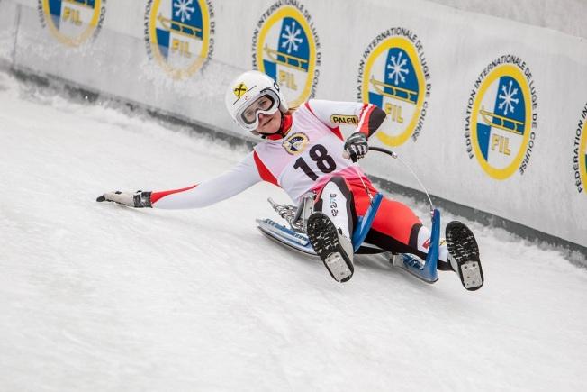 Michelle beim Weltcup im Jänner 2016_Fotocredit: Chris Walch