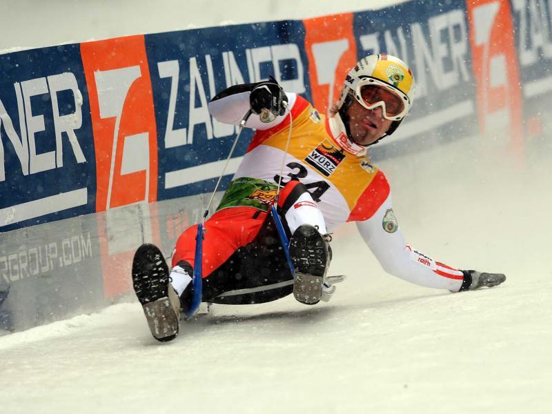Österreich. Gernot Schwab der Weltmeister des Jahres 2007 in Aktion