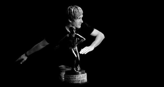 Österreichs Naturbahnrodler Gernot Schwab wurde steirischer Sportler des Jahres 2007