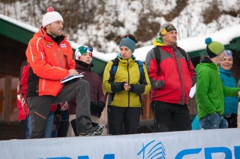 Robert überwacht seine Läufer/innen mit Argusaugen. Fotocredit: Chris Walch