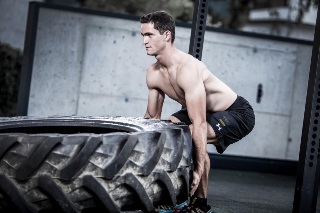 Österreichs Rodel-Star Thomas Kammerlander trainiert hart für die kommende Saison