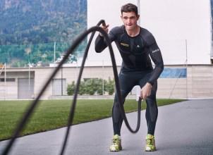 Thomas Kammerlander, Österreichs Top-Rodel-Star trainiert mit den Ropes