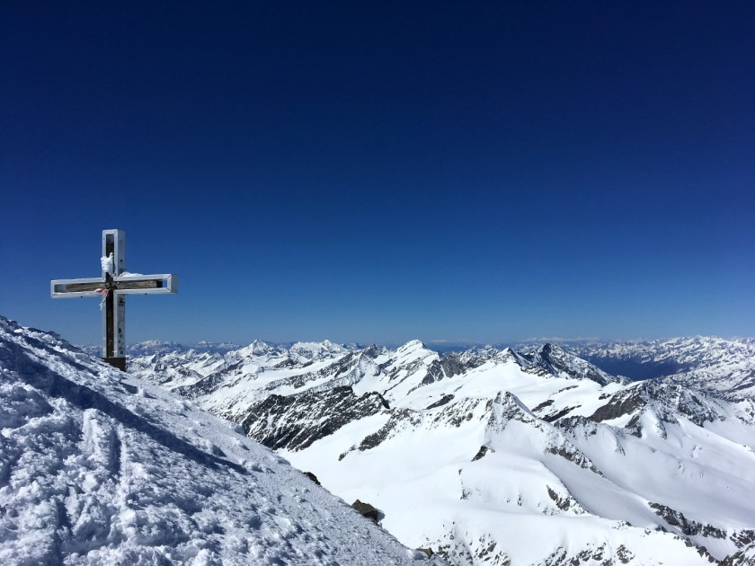 Gipfelkreuz am Großvenediger
