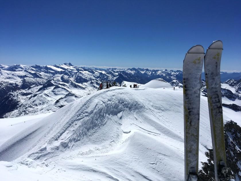 Der letzte Gipfelgrat am Großvenediger