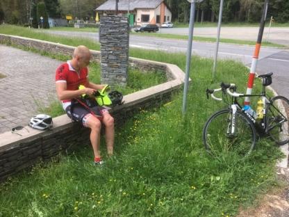 Rodel Star Michael Scheikl im Naturpark Geschriebenstein im Burgenland
