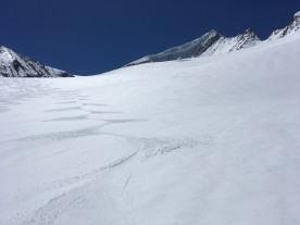 Rodel Austria Skitour-Großvenediger-Abfahrt 02