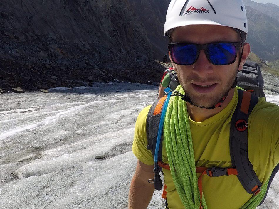 Beim Gletschereinstieg zum Großglockner