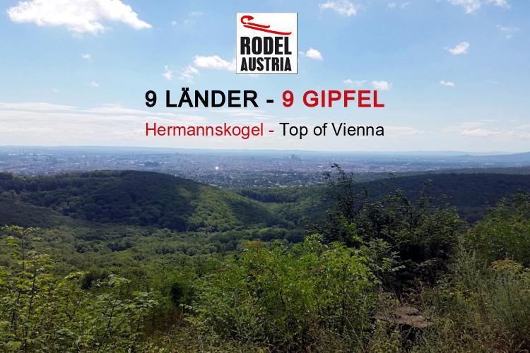 9 Länder - 9 Gipfel. Österreichische Naturbahnrodel-Stars besteigen den jeweils höchsten Gipfel des Bundeslandes