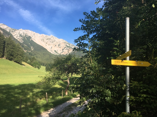 Am Fuße des Schneebergs in Niederösterreich. Schneebergdörfl