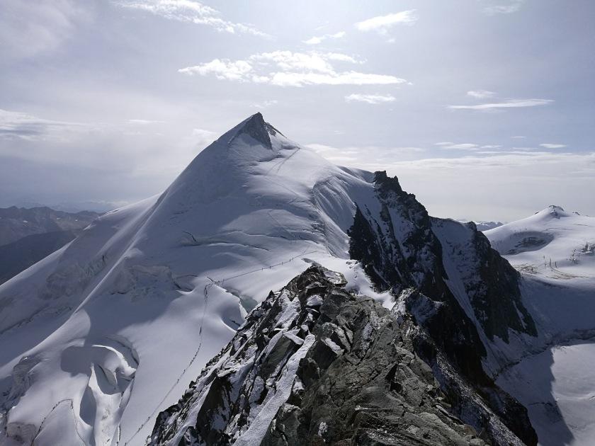 Das Allalinhorn-gesehen vom Feechopf
