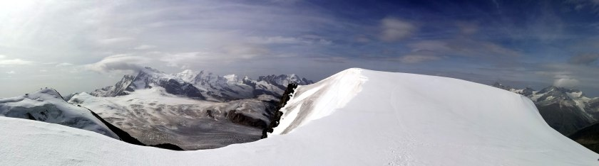 Rimpfischsattel-4000m-Panorama