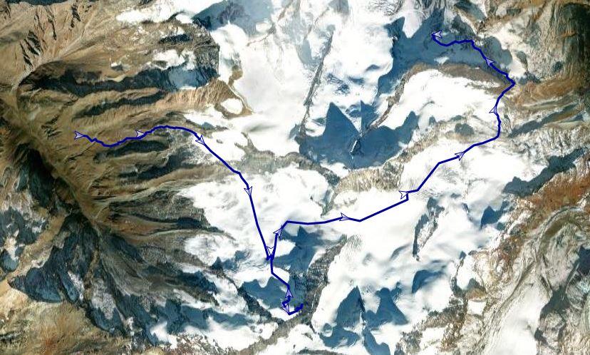 Rodel Austria Naturbahn-Route Rimpfischhorn