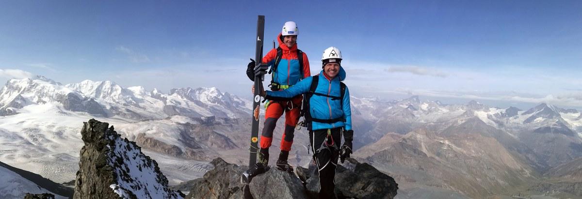 4000er Hochtour – auf dasRimpfischhorn